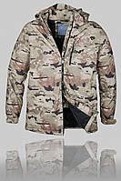 Зимняя мужская горнолыжная куртка Volcom 2802 Комуфляж