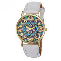 """Оригинальные модные женские часы """"Arabica"""", белые"""