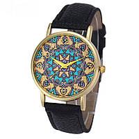 """Оригинальные модные женские часы """"Arabica"""", черные"""