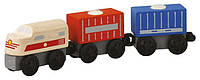 Грузовой (товарный) поезд Plan Тoys