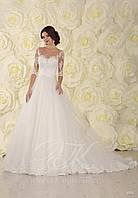 Свадебное платье модель 1555