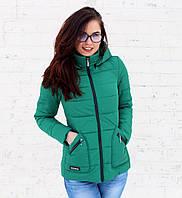 Куртка женская голден весна осень зеленная