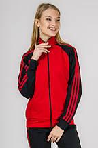 Трикотажный женский спортивный костюм New_Sport (красный)