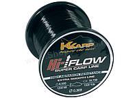 Леска K-Karp Hi-Flow 600м 0.309, Нейлон, Польша, Леска