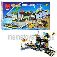 Конструктор Brick Спасательный центр 111/208884. 509 деталей