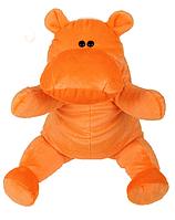 Мягкая игрушка бегемотик Алина 50 см.