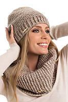 Теплый женский модный шарф-снуд от Pawonex - Elwin.