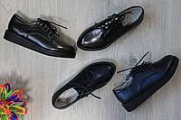 Подростковые туфли на шнурках для девочку, школьная детская обувь тм Тom.m р.32,33,34,35,36,37