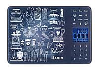 Весы кух.MAGIO MG-692 5 кг/электр./ стекло.