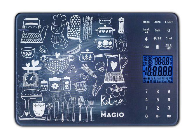 Весы кух.MAGIO MG-692 5 кг/электр./ стекло., фото 2