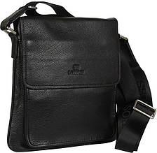 b89c5f73ed33 Кожаная сумка-планшет Lare Boss 0146-2 черная