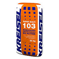 Kreisel SUPER MULTI 103 Клеевая усиленная смесь для плитки