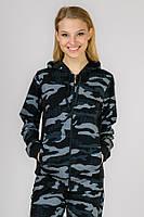 Женский спортивный костюм Military черный