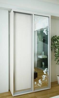 Двери раздвижные для шкафа купе 2400х1300