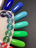 Гель-краска Nice for you P-14 (неоново-зеленый) , 5 мл, фото 2