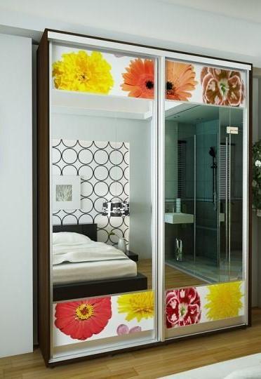 Раздвижные двери для шкафов купе 2400х1500