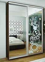 Розсувні двері для шаф купе 2400х1500