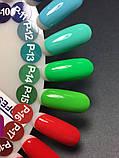 Гель-краска Nice for you P-14 (неоново-зеленый) , 5 мл, фото 4