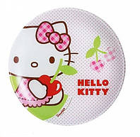 Тарелка десертна Luminarc Disney Hello Kitty Cherries J0023. Тарелка Люминарк