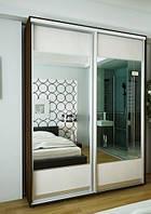 Раздвижные двери для шкафов купе 2400х1700