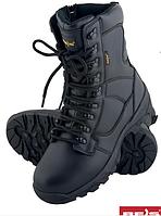 Мужские ботинки зимние с высококачественной кожи, со стальным носком, зима 39- 47