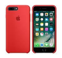 Оригинальный Силиконовый чехол Apple / Original iPhone 7 Plus Silicone case (PRODUCT) Red (MMQV2) Красный