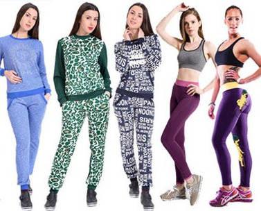 В красивой и стильной спортивной одежде худеть легче