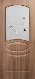 Дверное полотно ПВХ Лика с контурным рисунком