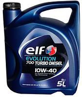 Моторное масло Elf Evolution 700 Turbo Diesel 10W-40 5