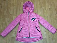 Детская весенняя курточка  для девочек