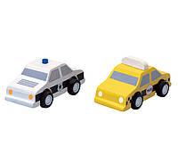 Набор машинок такси и полиция Plan Тoys