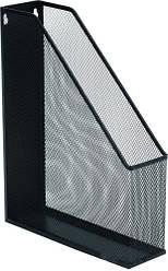 Лоток для бумаг вертикальный металлический черный