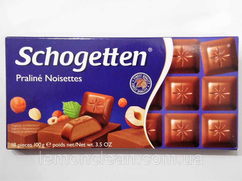 Шоколад Schogetten Praline Noisettes 100г