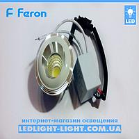 Світлодіодний світильник врізний Feron LN 003 COB 3W зоряне небо, фото 1