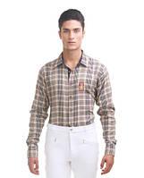 Мужская рубашка для верховой езды