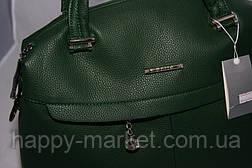 Сумка женская Саквояж  Valetta studio Зеленая 22121508-1, фото 3