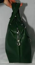 Сумка женская Саквояж  Valetta studio Зеленая 22121508-1, фото 2