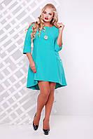 Платье со шлейфом Миланова мята 48-56р, фото 1
