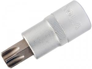 """YATO Головка торцева з квадр. 1/2""""  з вставкою TORX Т25, L=50 мм, Nm=25,5"""