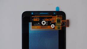 Дисплей с сенсором Samsung J710 Galaxy J7 Black оригинал, GH97-18855B, фото 3