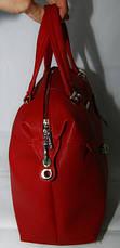 Сумка женская Саквояж  Valetta studio Красная  22121508-2, фото 3