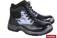 Мужская защитная обувь, натуральная водостойкая кожа, шнуровка, стандарты EN20345, EN20344