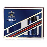 Мужской подарочный набор (Лосьон после бритья/дезодорант) LA RIVE  BRUTAL GRAND 061892