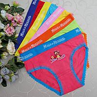 Трусики для девочек 2-3 года (S). Турция, Donella. Cotton - 95%. Детские трусики, белье, трусы для детей, фото 1