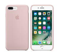 Силиконовый чехол Apple / Original iPhone 7 Plus / 8 Plus Silicone case Pink sand (MMT02) Розовый, фото 1
