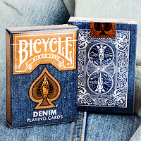 Карты игральные | Bicycle Denim Playing Card by Collectable Playing Cards