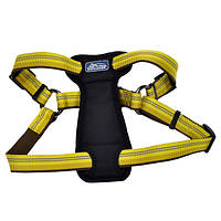 Coastal K9 Explorer шлея для собак c нагрудником, нейлон, пламя, 2,5Х50-75 см