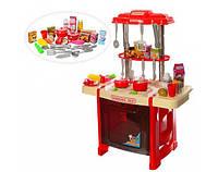 Кухня 922-14, 38-53-23,5 см,плита,посуда,продукты,зв,св,2 вида,на бат-ке,в кор-ке,38-55-12см
