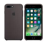 Силиконовый чехол Apple / Original iPhone 7 Plus / 8 Plus Silicone case Cocoa (MMT12) Какао, фото 1