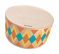 Деревянная игрушка Plan Тoys - Круглий барабан